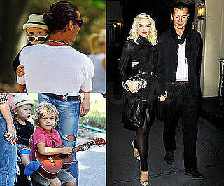 Pictures of Gwen Stefani and Gavin Rossdale Celebrating Eight Years of Marriage With Their Little Ones in NYC