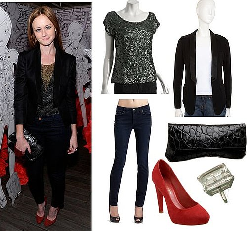 Pictures of Alexis Bledel at Mulberry at 2011 Spring Fashion Week