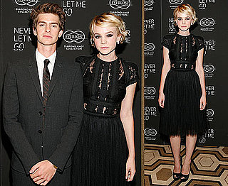 Carey Mulligan and Andrew Garfield at Never Let Me Go Screening in NYC