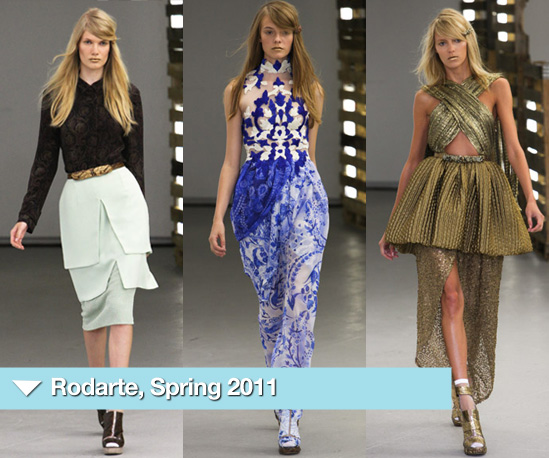 Photos of Rodarte Spring 2011 Collection at New York Fashion Week