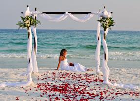 Destin weddings with Sugar Beach Weddings