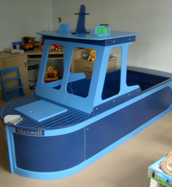 Fishing Boat Bed