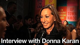 Spring 2011 New York Fashion Week Interview: Donna Karan