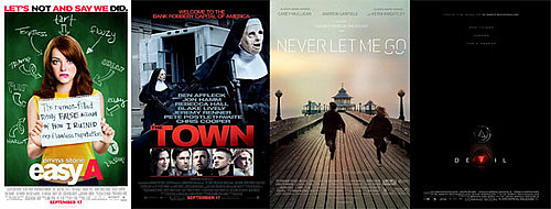 Which New Movie Will You See This Weekend — Easy A, The Town, Never Let Me Go, or Devil?