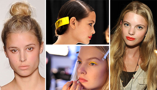 2011 Spring New York Fashion Week: Beauty Trends