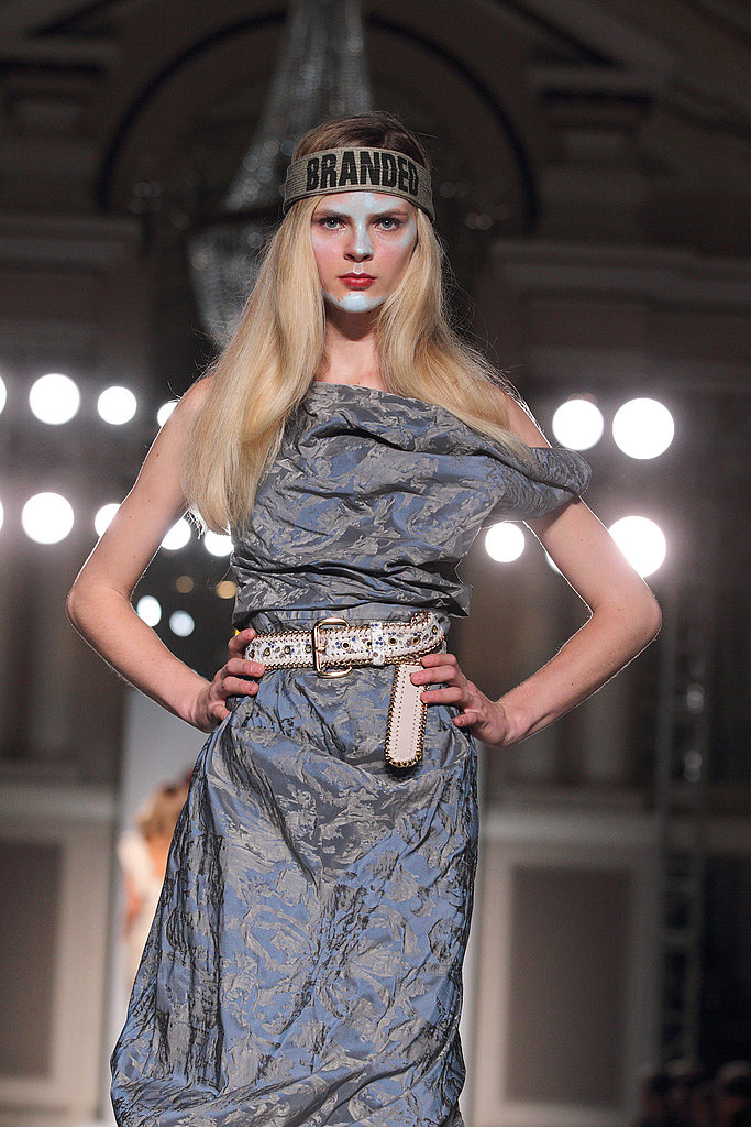 2011 Spring London Fashion Week: Vivienne Westwood Red