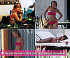 Pictures of Nicole Richie in a Pink Bikini Vacationing With Samantha Ronson in Mexico