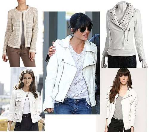 White Leather Jackets
