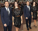 Pictures of Ben Affleck and Rebecca Hall at The Town UK Premiere in London