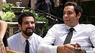 Chuck Stars Zachary Levi and Joshua Gomez Interview