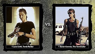 Kickass Character Bracket Pits Terminator's Sarah Connor Against Tomb Raider's Lara Croft