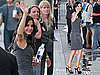 Pictures of Courteney Cox Arriving at the Jimmy Kimmel Live Studios in LA