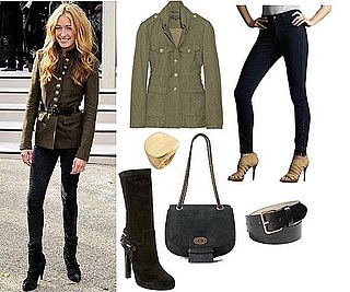 Pictures of Cat Deeley at Burberry Porsum Spring '11
