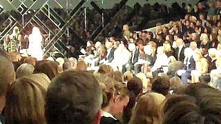 Video of the Burberry Spring 2011 Finale at London Fashion Week
