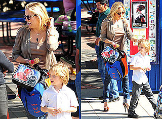 Pictures of Kate Hudson and Ryder Robinson Leaving School in LA