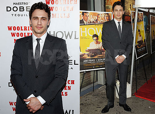 Pictures of James Franco at a Premiere of James Franco