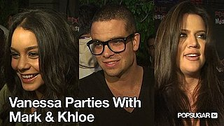 Video of Vanessa Hudgens Dancing at a Party With Mark Salling and Khloe Kardashian