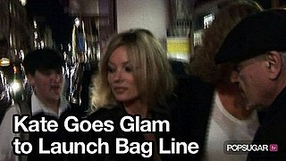 Video of Kate Moss at London Fashion Week