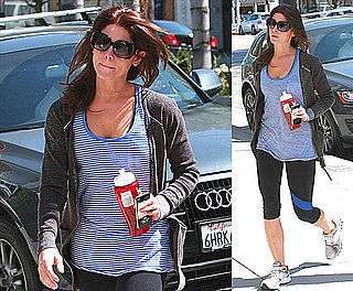 Pictures of Ashley Greene Visiting the Gym in Los Angeles