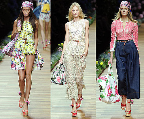 Spring 2011 Milan Fashion Week: D&G 2010-09-23 14:30:05