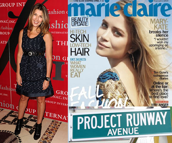 We chatted with Nina Garcia for a few minutes and she shared a day in her life at Marie Claire. Don't miss it!