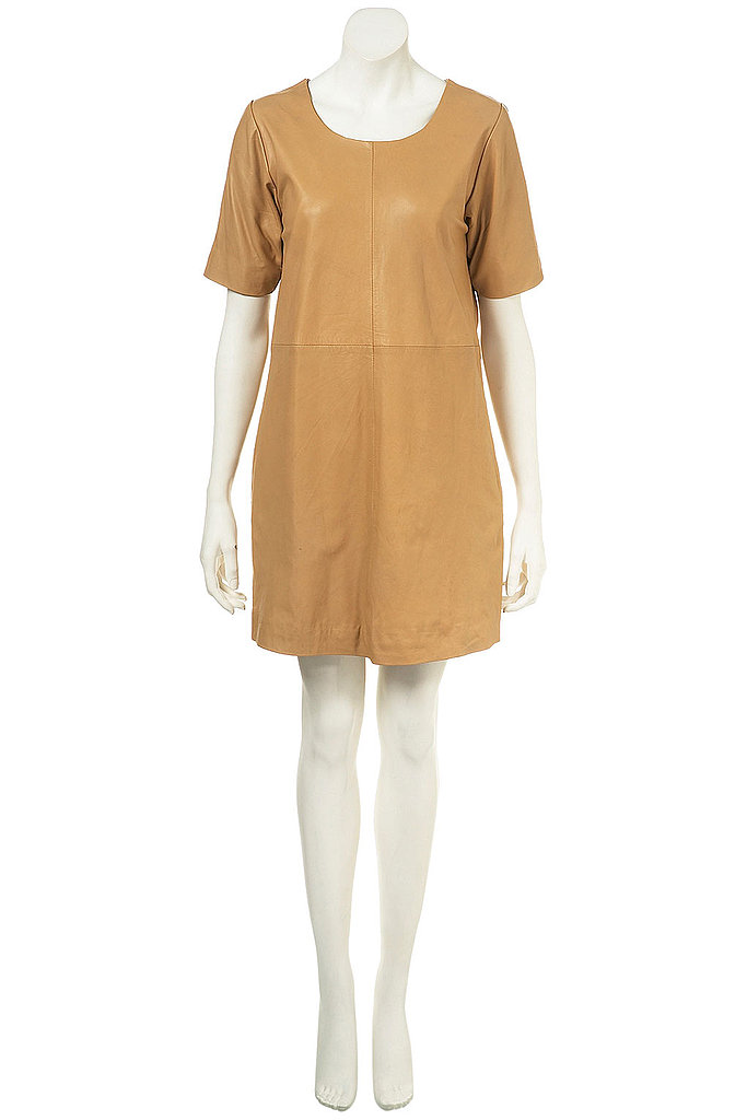 Topshop Leather Tunic Dress ($310)