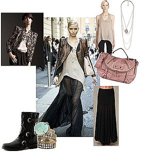 Spring 2011 Milan Fashion Week Street Style: Abbey Lee Kershaw