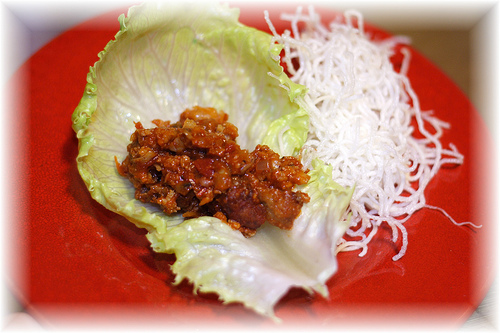 PF Chang&#039;s Lettuce Wraps @ Home!