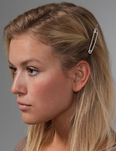 Marc by Marc Jacobs's Safety Pin Hair Pin Pictures
