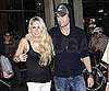 Slide Picture of Anna Kournikova and Enrique Iglesias at Miami Game
