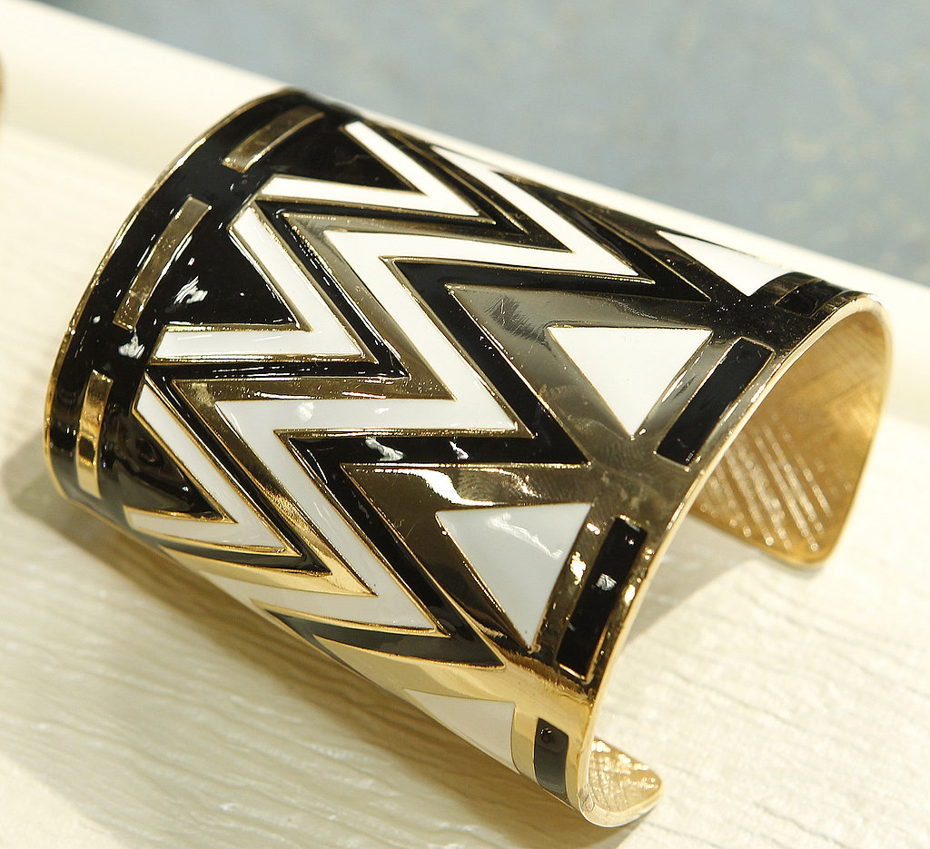 This cuff could elevate any of your basics but would pair fabulously with a one-shoulder LBD for something dressed-up, too.