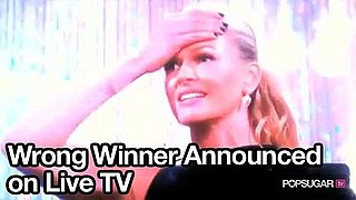 Video of Wrong Winner Announced on Australia's Top Model