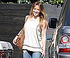 Slide Picture of Hilary Duff Leaving the Hair Salon in LA