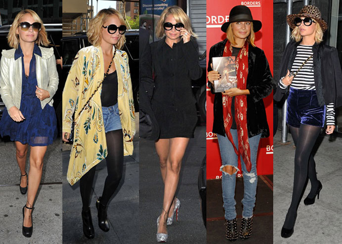Pictures of Nicole Richie in NYC