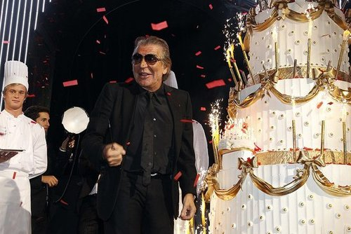 Photos from Roberto Cavalli's 40th Anniversary Party During Spring 2011 Paris Fashion Week