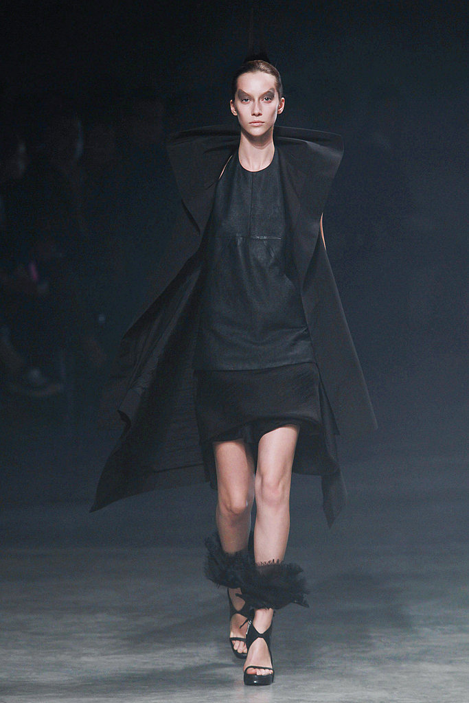 Spring 2011 Paris Fashion Week: Rick Owens