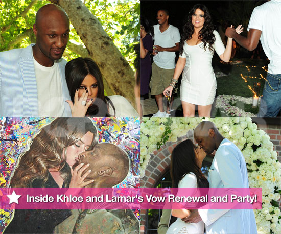 Pictures From Khloe Kardashian and Lamar Odom's Vow Renewal