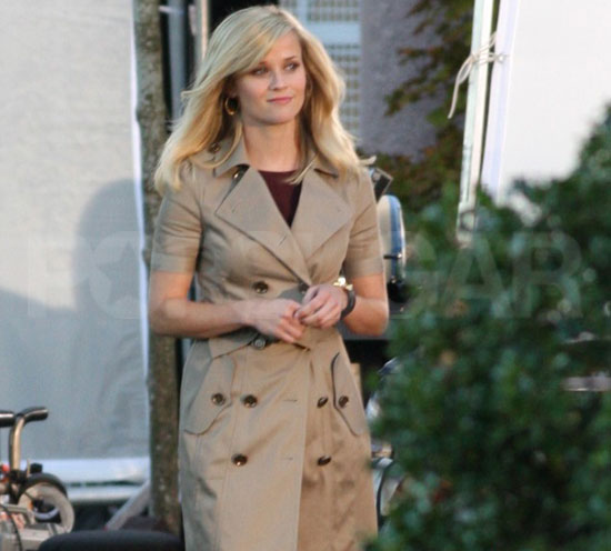 Pictures of Reese Witherspoon and Tom Hardy Shooting This Means War in Vancouver