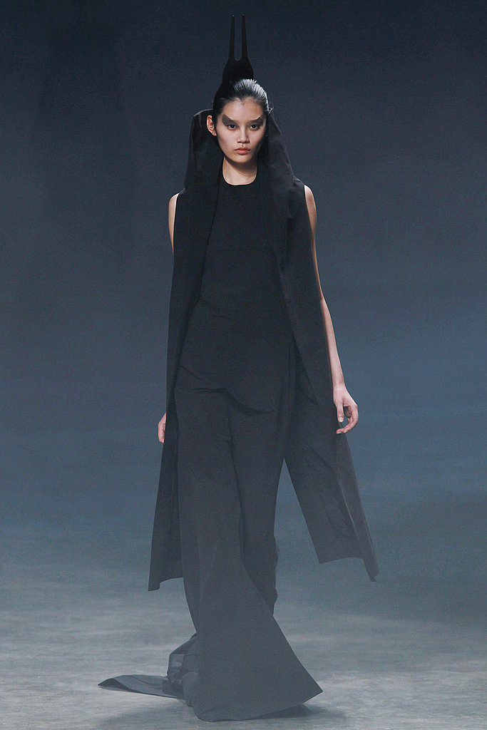 2011 Spring Paris Fashion Week: Rick Owens