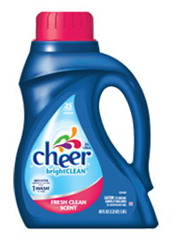 Cheer Bright Clean: Fresh Clean Scent