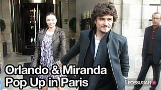 Video of Miranda Kerr and Orlando Bloom in Paris