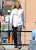 Pictures of Cameron Diaz Shooting Bad Teacher in LA