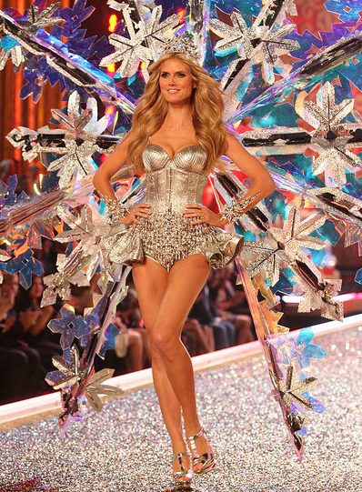Did you hear? Heidi Klum quit Victoria's Secret. Take a look back at her hottest VS looks through the years.