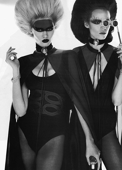 Halloween is not too far off. Here are some spooky editorials to get you inspired.