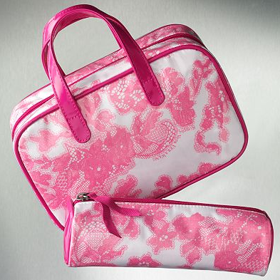 Simply Vera Vera Wang Lace Cosmetic Bag Set ($10)