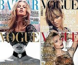 Ten fabulously fashion-forward October covers with Gisele, Lara, Anja, and more!