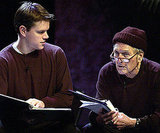 Matt Damon joined Paul Newman on stage to perform The World of Nick Adams during a November 2002 charity event.