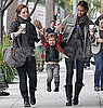Pictures of Jessica Alba and Honor Warren Shopping in LA