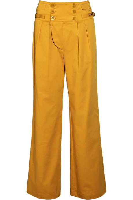 See by Chloé High-Waisted Wide-Leg Pants ($176, originally $390)