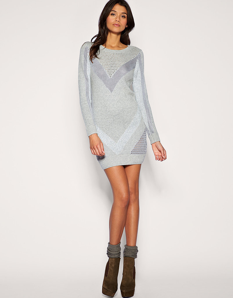 Warehouse Mixed Knit Sweater ($85)